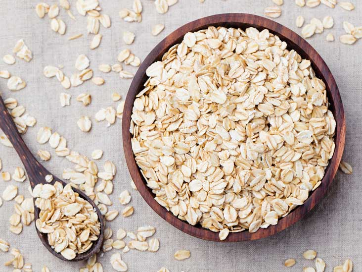 Oatmeal helps to increase breast milk