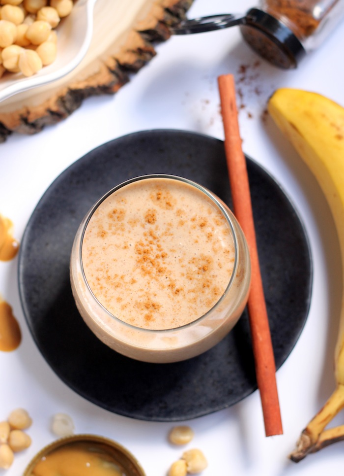 Snicker Doodle Chickpea Smoothie