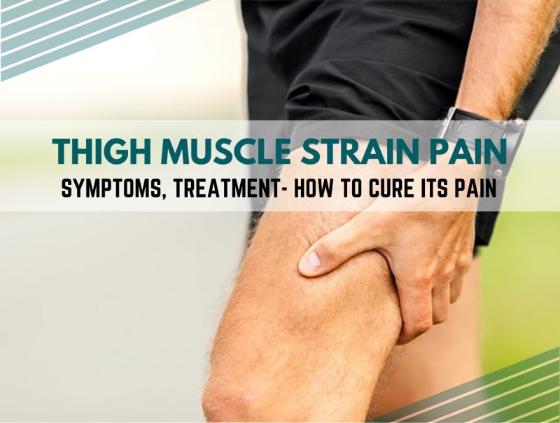 thigh muscle strain pain