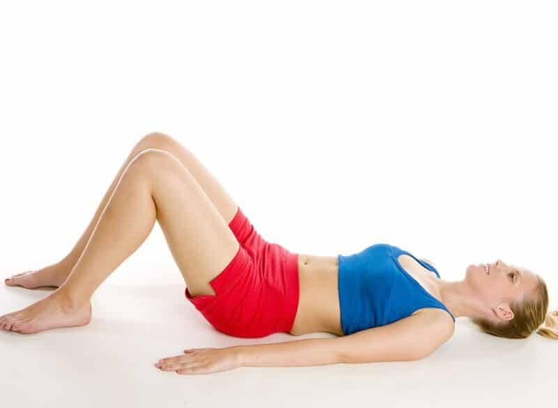 lying-on-back stomach vaccum